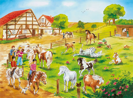 Ponyhof Spiele