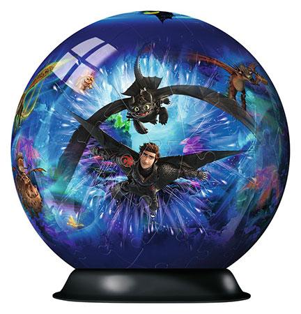 3D Puzzleball - Dragons 3