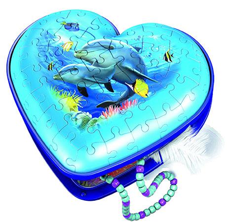 Herzschatulle Unterwasserwelt                                                                 Feb.