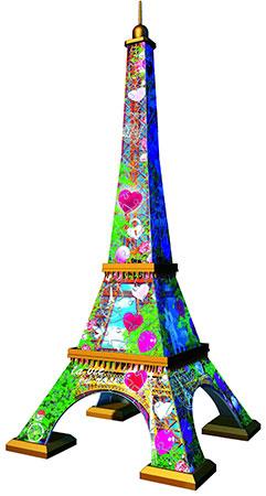 3D Puzzle - Eiffelturm (Love Edition)
