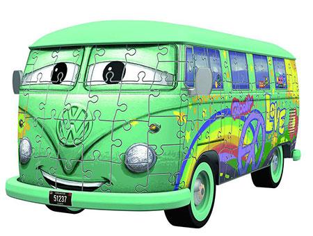 3D Puzzle - Cars Fillmore VW T1