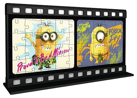 3D Filmstreifen - Minions - Natural