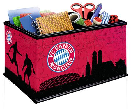 3d-puzzle-aufbewahrungsbox-fc-bayern-munchen, 21.99 EUR @ puzzle