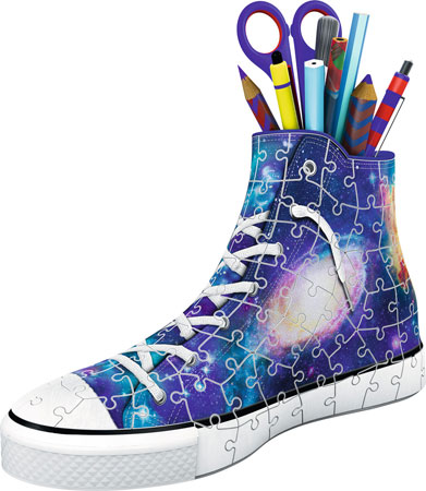 3d-puzzle-schuh-galaxy-style
