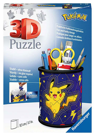 3D Puzzle - Utensilo - Pokemon