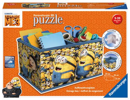 3D Puzzle - Aufbewahrungsbox - Despicable Me 3