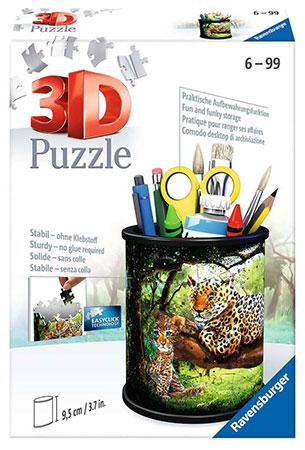 3D Puzzle - Utensilo - Raubkatzen