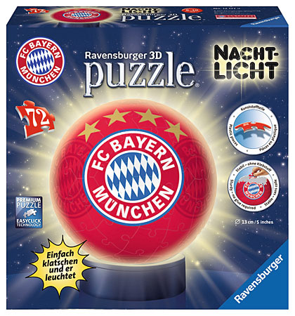 3D Nachtlicht - FC Bayern München