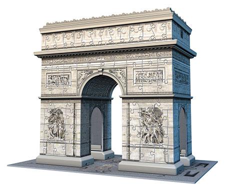 3D Puzzle - Arc de Triomphe, Paris