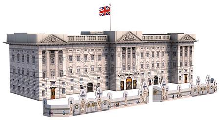3D Bauwerke - Buckingham Palace
