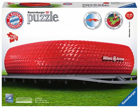 3D Bauwerke - Allianz Arena