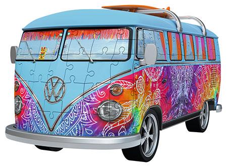 3D Puzzle - Volkswagen T1 Indian Summer