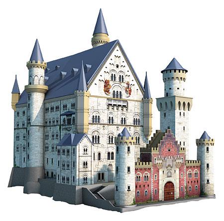 3D Bauwerke - Schloss Neuschwanstein