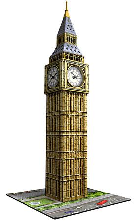 3D Bauwerke - Big Ben mit echtem Uhrwerk