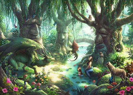 Exit Puzzle - Kids - Der magische Wald