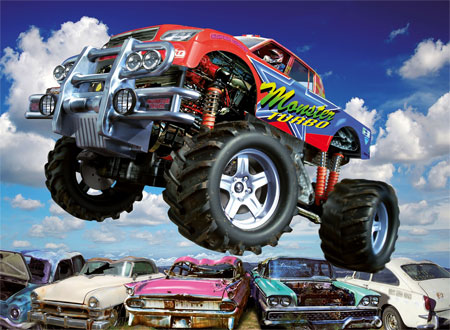 kinderspiele monstertruck