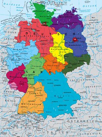 deutschlandkarte politisch Ravensburger 13120 Deutschlandkarte, politisch deutschlandkarte politisch