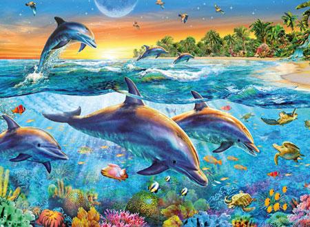 Bucht der Delfine
