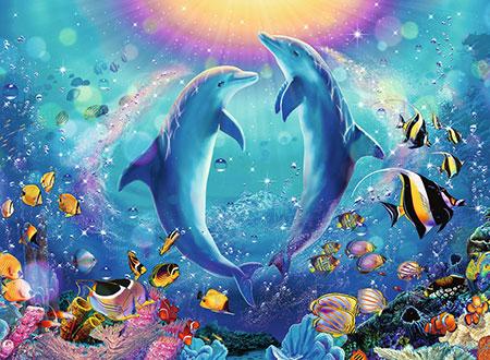 Tanz der Delphine