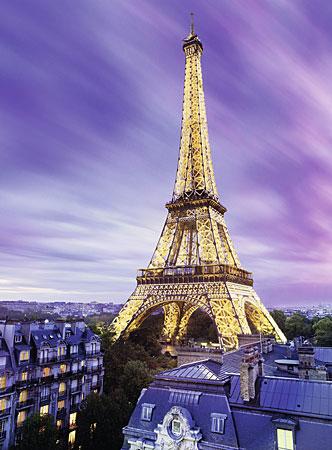 Funkelnder Eiffelturm