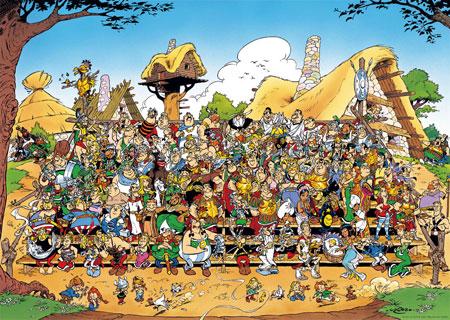 Asterix Familienfoto