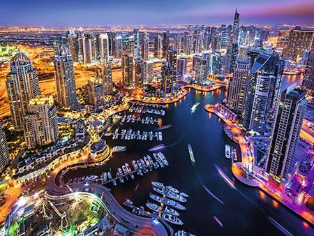 Dubai am Persischen Golf