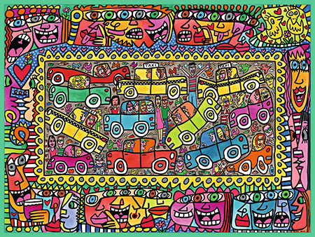 James Rizzi: We are on our way to your party