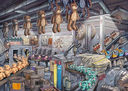 Exit Puzzle - In der Spielzeugfabrik