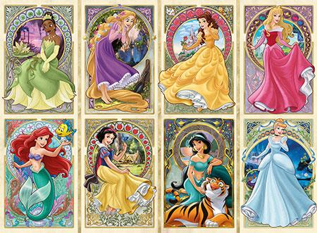 Nouveau Art Prinzessinnen