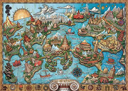 Geheiminsvolles Atlantis