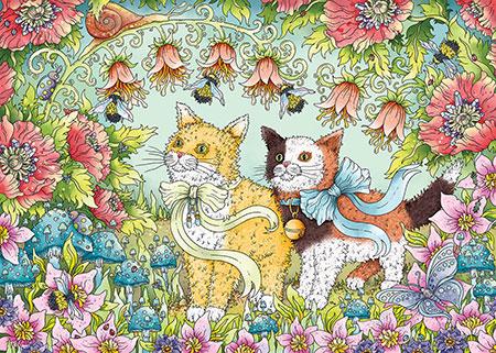 Kätzchenfreundschaft