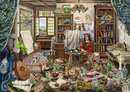 Exit Puzzle - Das Künstleratelier