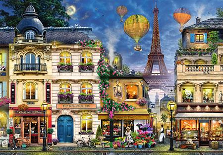 Abendspaziergang durch Paris