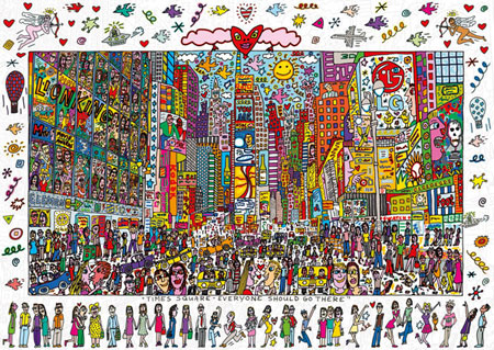 James Rizzi - Times Square