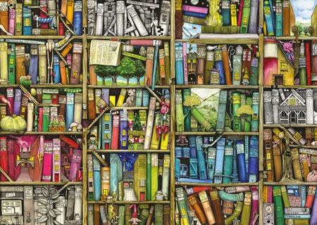 Magisches Bücherregal