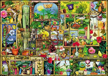Das grandioses Gartenregal