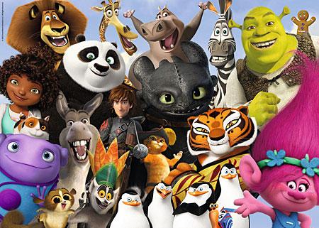 DreamWorks - Familie