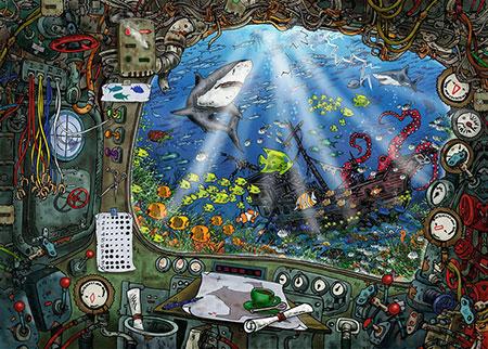 Exit Puzzle - Im U-Boot