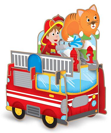 3D-Puzzle - Die Feuerwehr