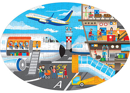 Reise, entdecke, erforsche - Der Flughafen