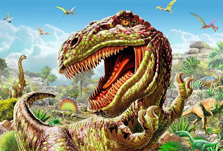 t-rex spiele