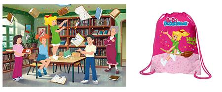 Bibi Blocksberg - In der Bibliothek