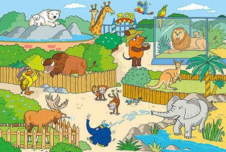 Die Maus - Im Zoo