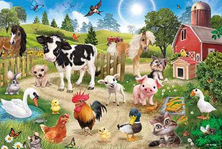 Animal Club - Bauernhoftiere