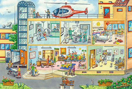 Im Kinderkrankenhaus