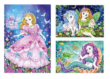 Prinzessin, Fee & Meerjungfrau