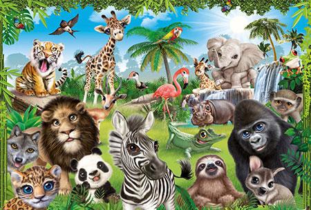 Animal Club - Wildtiere