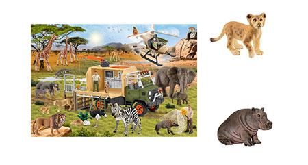 Abenteuerliche Tierrettung