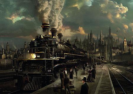 Lokomotive von 1890