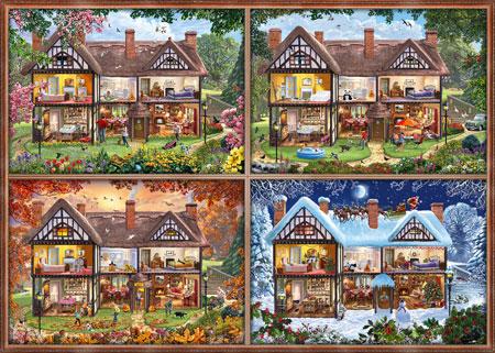 Jahreszeiten Haus
